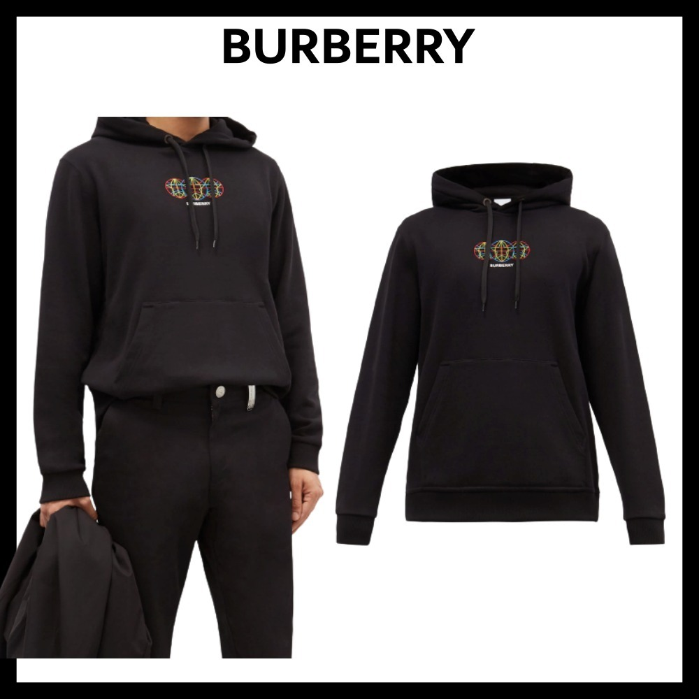 【BURBERRY】★関税込み★ウィントン コットンフーディー (Burberry/パーカー・フーディ) 68509982