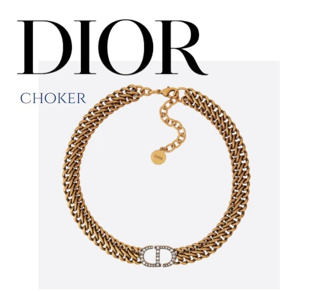 21FW【DIOR】30 MONTAIGNE ネックレス すぐお届け ギフト包装 (Dior/ネックレス・ペンダント) 68510985