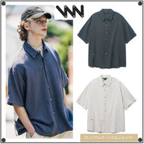 WV PROJECTのRits stripe Short-shirts 全2色