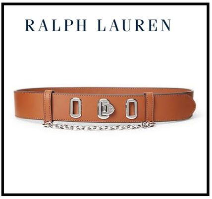 【Ralph Laruren】Double O-Ring Leather Belt(送料込)