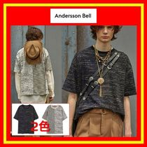 [ANDERSSON BELL] FABRIC CONTRAST SEOUL 21 T-SHIRTS/追跡付