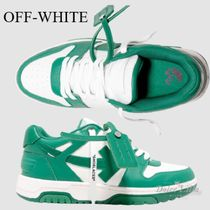 OFF-WHITE Out Of Office ''OOO'' Dirty White Green