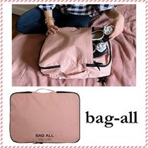 Bag all(バッグオール) トラベルポーチ 【Bag-all】関送込 DOUBLE SIDED PACKING CUBES ピンク