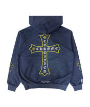 Chrome Hearts × Drake / Certified Lover Boy Hoodie Navy