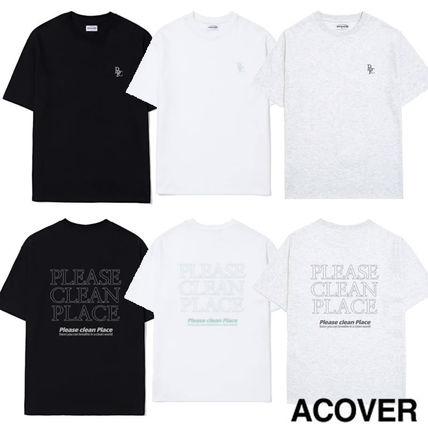Tシャツ●ACOVER●PLEASE CLEAN PLACE T-SHIRT