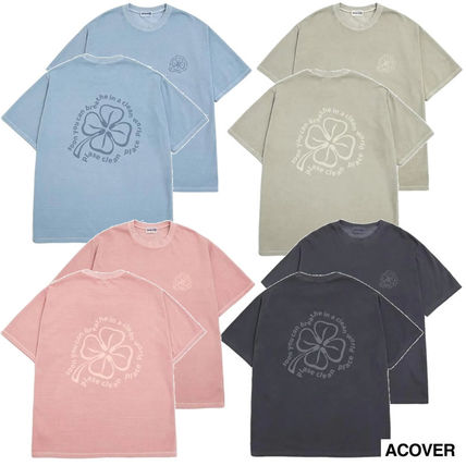 Tシャツ●ACOVER●CLOVER PIGMENT T-SHIRT