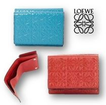 【LOEWE】OUTLET☆Repeat☆Trifold☆ロゴ入☆三つ折りウォレット