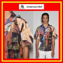 [ANDERSSON BELL] UNISEX TUNISIA CONVERTIBLE SHIRTS/追跡付