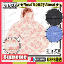 【21SS】SUPREME Floral Tapestry Anorak 追跡あり