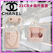 【21CR★海外直営】CHANELポーチ/Classic Vanity with Chain