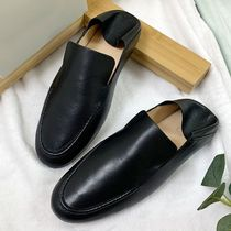 """""""COS"""" SOFT LEATHER LOAFERS BLACK"""