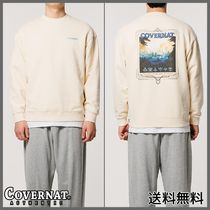 [COVERNAT]C X LoL TOWER GRAPHIC CREWNECK BUTTER