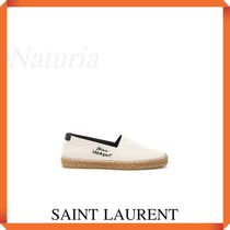 Saint Laurent Signature Canvas Espadrilles