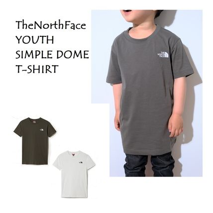 THE NORTH FACE  2WAN EUライン YOUTH SIMPLE DOME T-SHIRT