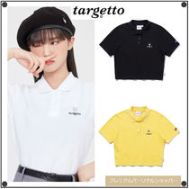 TARGETTO SEOULのHEART RING PIQUE SHIRT 全3色