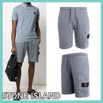 大人気!!★STONE ISLAND★LOGO PATCH HALF PANTS