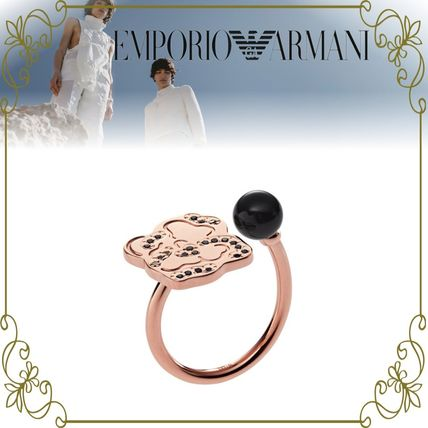 【Emporio Armani】ROSE GOLD PLATED FASHION RING EGS2464221