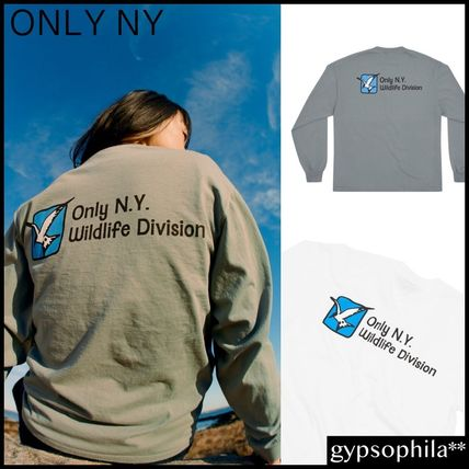 *ONLY NY* Wildlife Division 長袖 Tシャツ 2色 White Grey