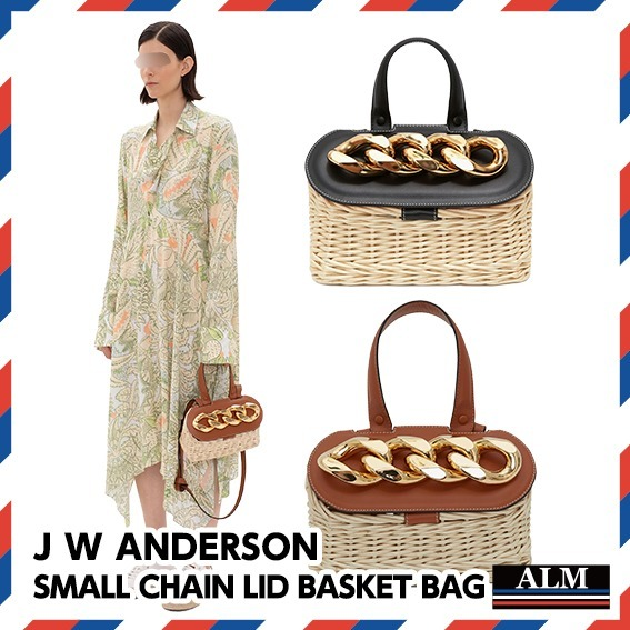 J W ANDERSON★SMALL CHAIN LID BASKET BAG (J W ANDERSON/かごバッグ) 68591563