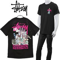 STUSSY Tシャツ PSYCHEDELIC TEE 1904663-BLACK