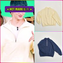 【YOUNGOH】 HALF ZIP SWEAT SHIRT ★NCT MARK着用★