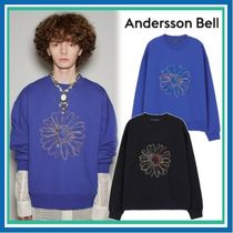 ANDERSSON BELL(アンダースンベル) スウェット・トレーナー 21SS★ANDERSSON BELL★COSMOS EMBROIDERY SWEATSHIRT 男女兼用