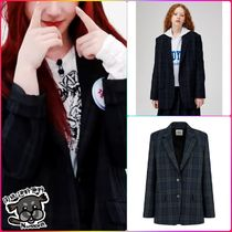 【STUDIO TOMBOY】Check-out jacket ★ITZY Chaeryeong着用品★