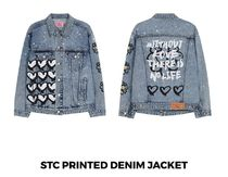 【SWALLOW THE CANDY】STC DENIM JACKET BLUE