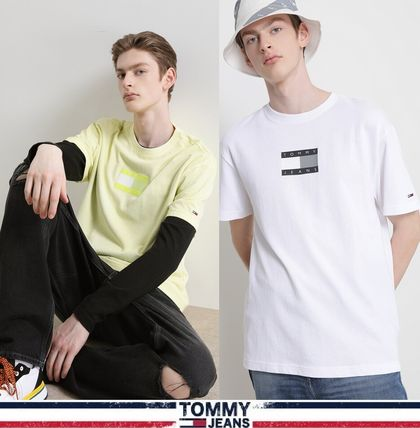 TOMMY JEANS★正規品★Cotton tonal flag Tシャツ/安心追跡付
