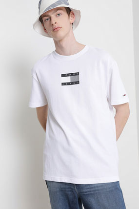 Tommy Hilfiger Tシャツ・カットソー TOMMY JEANS★正規品★Cotton tonal flag Tシャツ/安心追跡付(2)