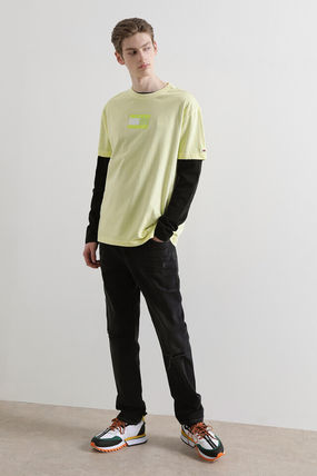 Tommy Hilfiger Tシャツ・カットソー TOMMY JEANS★正規品★Cotton tonal flag Tシャツ/安心追跡付(10)