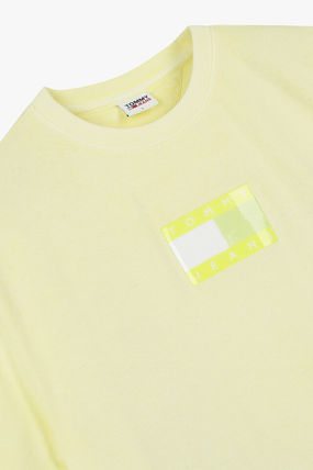 Tommy Hilfiger Tシャツ・カットソー TOMMY JEANS★正規品★Cotton tonal flag Tシャツ/安心追跡付(13)