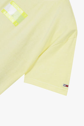 Tommy Hilfiger Tシャツ・カットソー TOMMY JEANS★正規品★Cotton tonal flag Tシャツ/安心追跡付(14)