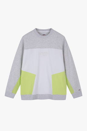 Tommy Hilfiger スウェット・トレーナー TOMMY JEANS★正規品★Color Block トレーナー/安心追跡付(5)