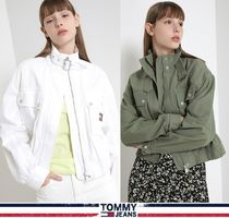 TOMMY JEANS★正規品★クロップ Utility ジャケット/安心追跡付