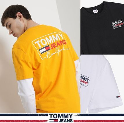 TOMMY JEANS★正規品★Back Logo Tシャツ/安心追跡付