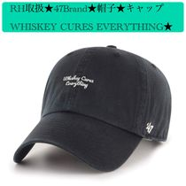 RH取扱★47Brand★WHISKEY CURES EVERYTHING★帽子 キャップ