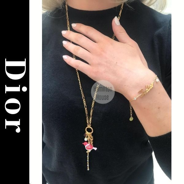 2021PRE-FALLディオール D-CHARMS ロングネックレス 直営店 (Dior/ネックレス・ペンダント) 68625876