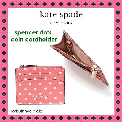 CUTEでコンパクト*Kate Spade spencer dots coin cardholder