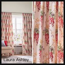 【Laura Ashley】Wisteria Pencil Pleat カーテン W163×D183cm
