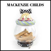 MACKENZiE-CHiLDS ☆Courtly Check クッキージャー☆犬 ペット用