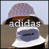 adidas*All Over ロゴ バケットハット 国内発送★送料込