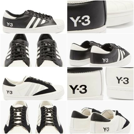 [Y-3] Yohji Star leather trainers (送料関税込み)