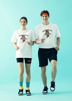 GROOVE RHYME(グルーヴライム) Tシャツ・カットソー GROOVERHYME*RUNNING DUMBY T-SHIRT 2色