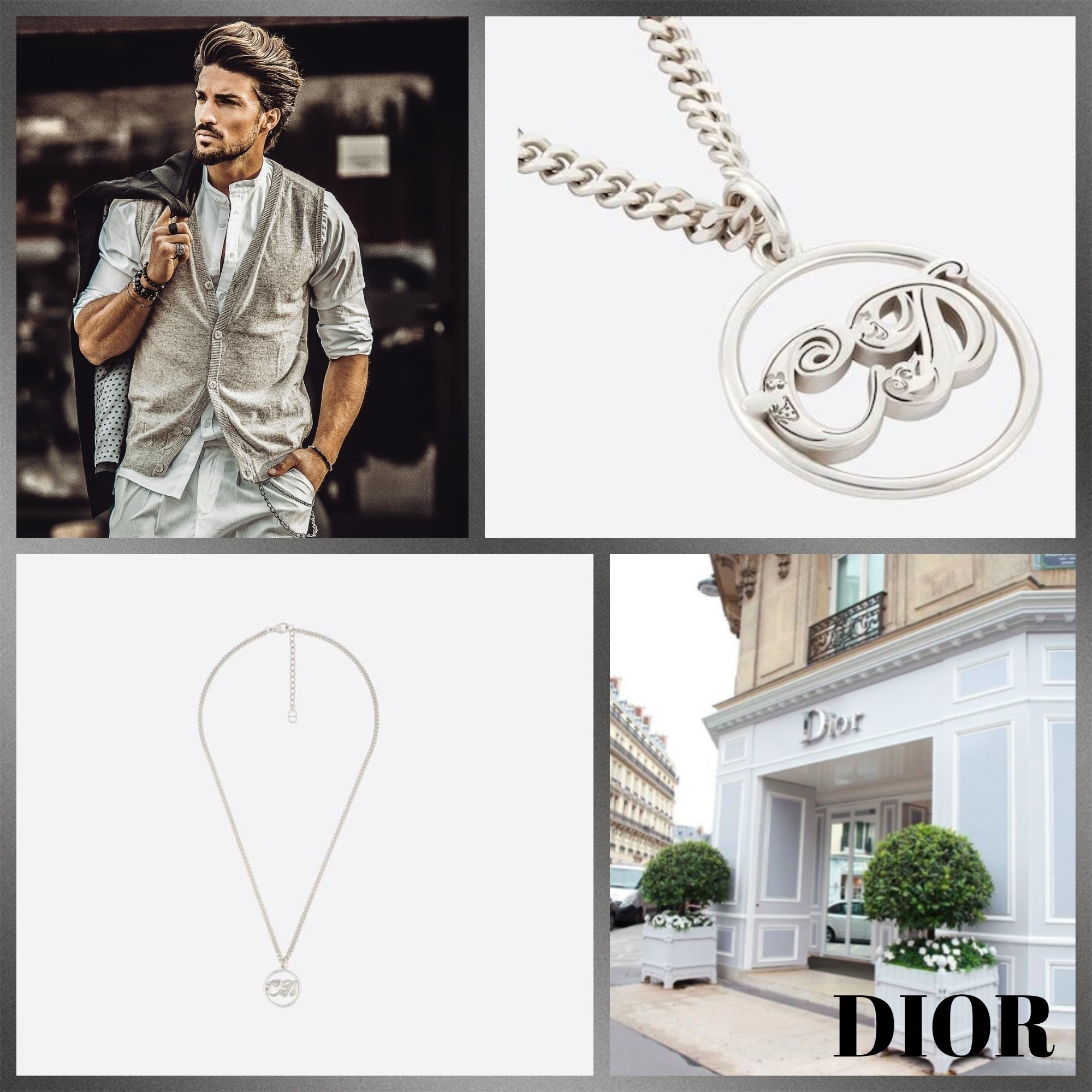 #DIOR直営店買付#DIOR AND KENNYSCHARFペンダントネックレス (Dior/ネックレス・チョーカー) 68652674