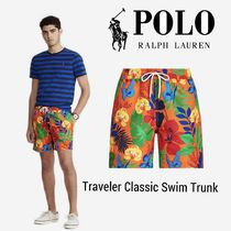 NEW【Polo Ralph Lauren】Traveler Classic Swim Trunk