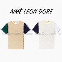 入手困難!!【Aime Leon Dore】Colorblock Short-sleeve Tee