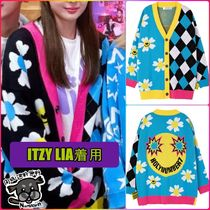 【HOLY NUMBER7】OVER-FIT SMILE Cardigan ★ITZY LIA着用品★