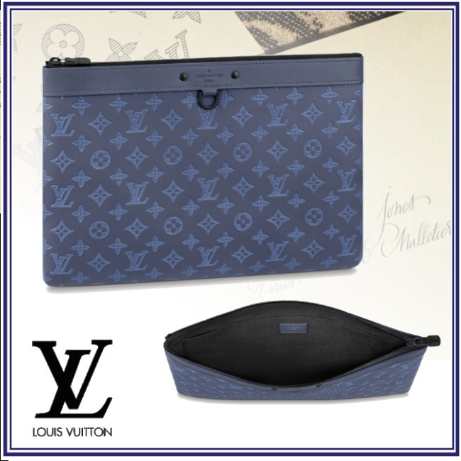 2021-22AWプレ新作★ルイヴィトン★ポシェット・ディスカバリー (Louis Vuitton/クラッチバッグ) 68657386