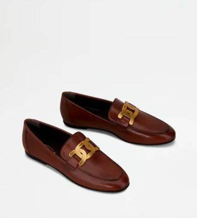 TOD'S ローファー・オックスフォード 直営 関税込 TOD'S Kate Loafers in Leather(7)